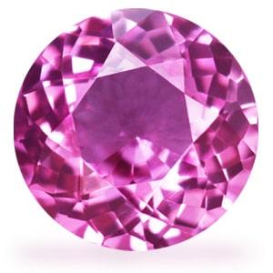 GemsNY Pink Sapphire Bands