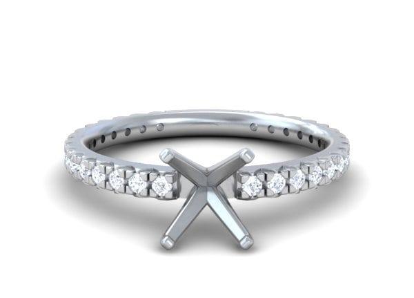Classic Pave Diamond Rings - R10264DM