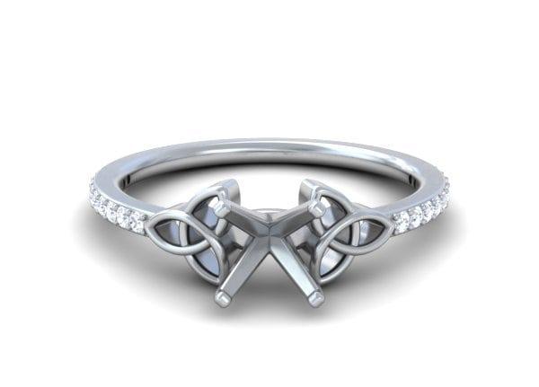 Celtic Diamond Rings - R11659DM