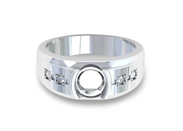 Ruby Mens's Ring