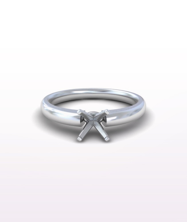 Traditional Solitaire Rings