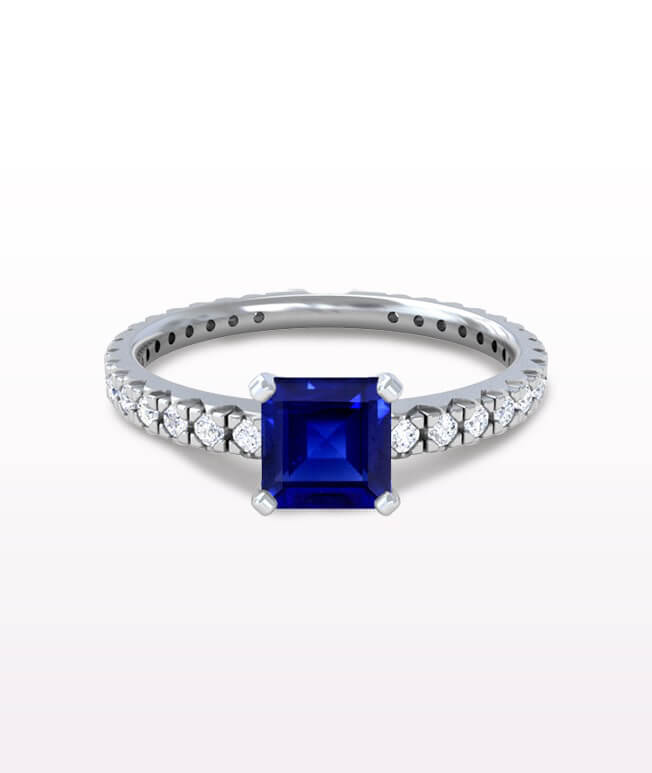 Classic Pave Ring