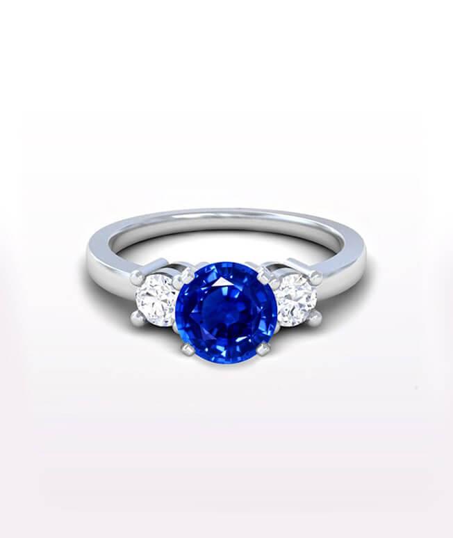 Classic Three Stone Ring