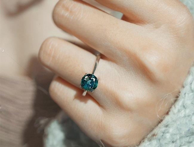 GemsNY Alexandrites Ring Jewelry