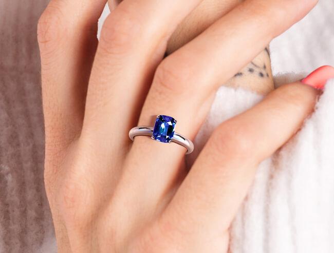 GemsNY Sapphire Ring