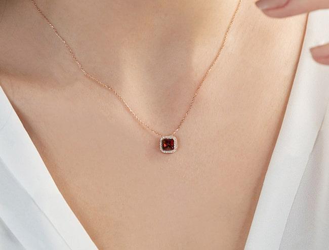 GemsNY Ruby Pendants Jewelry