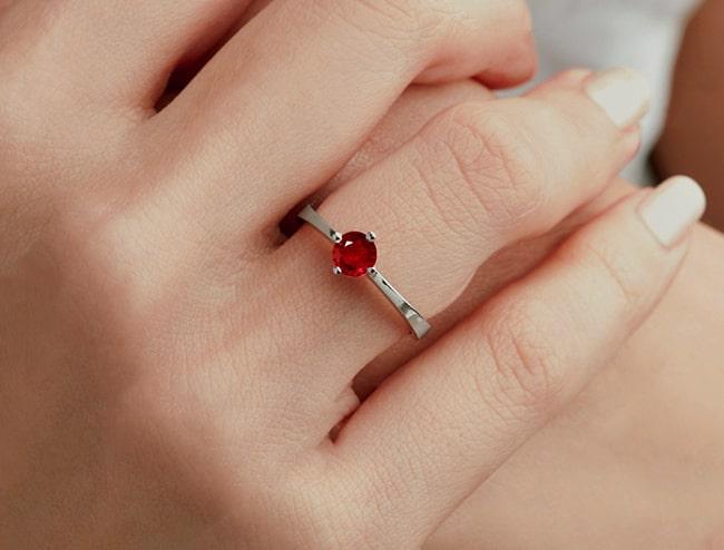 GemsNY Ruby Ring Jewelry