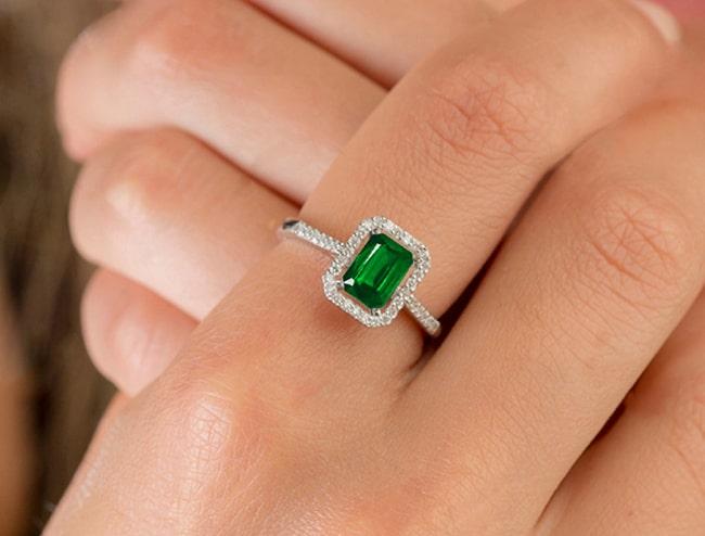 GemsNY Emerald Ring Jewelry