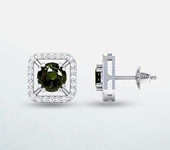 GemsNY Alexandrite Designer Earrings