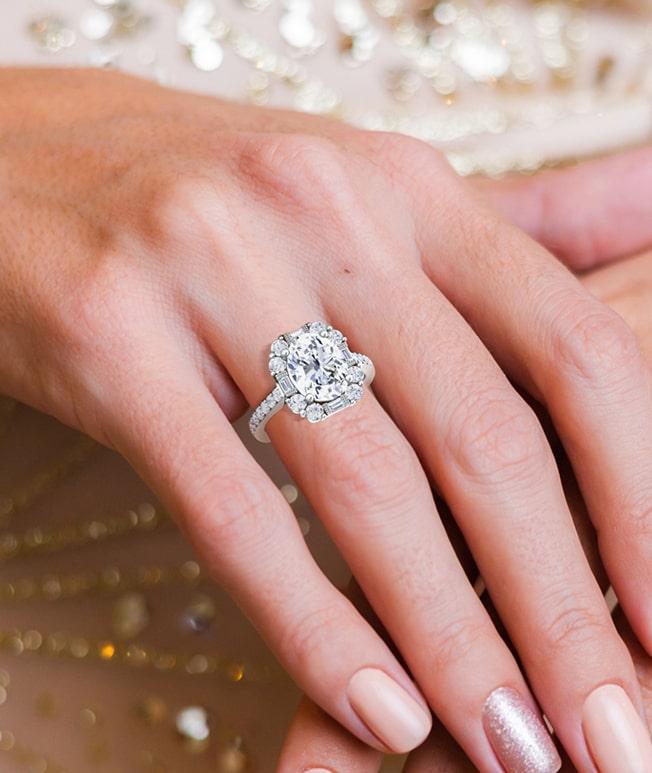 GemsNY Diamond Antique Rings