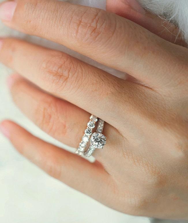 GemsNY Diamond Wedding Sets Rings