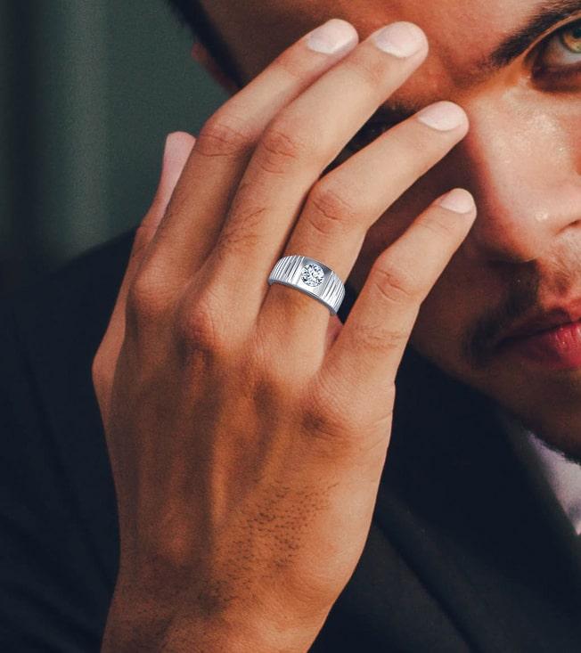 GemsNY Men's Diamond Rings