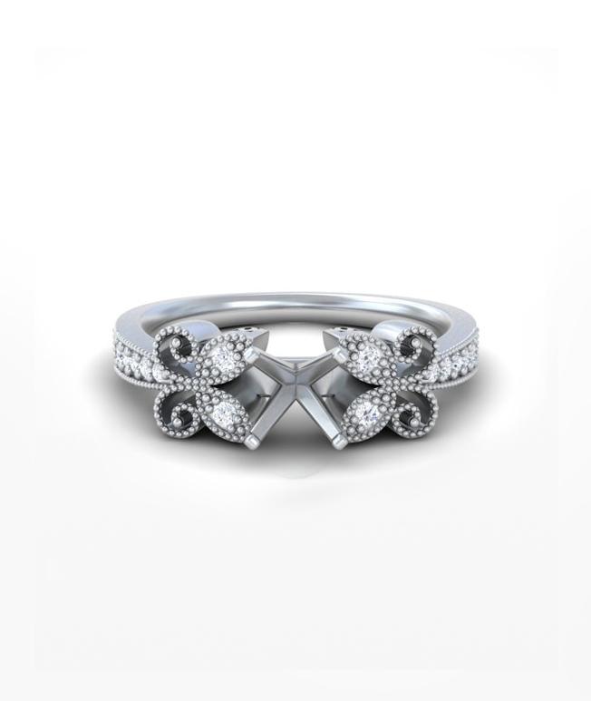 Emerald Antique Rings