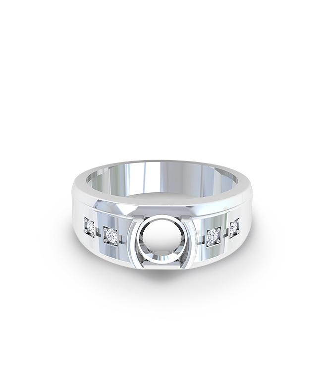 Emerald Men's Ring