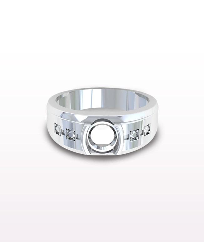 Emerald Men's Rings