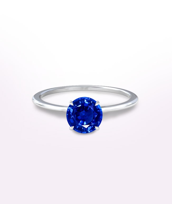 Solitaire Sapphire Rings
