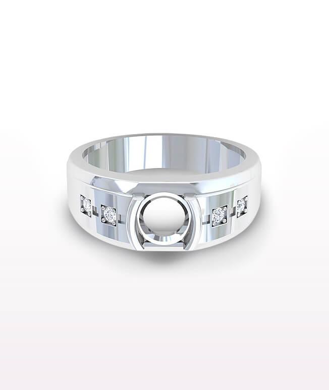 Sapphire Men's Rings