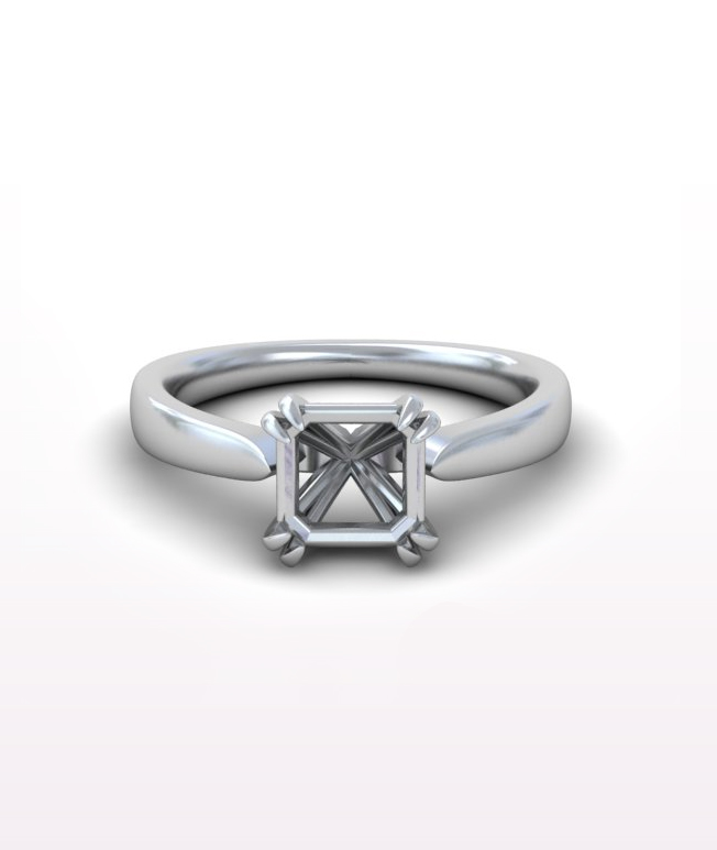 Sapphire Solitaire Rings
