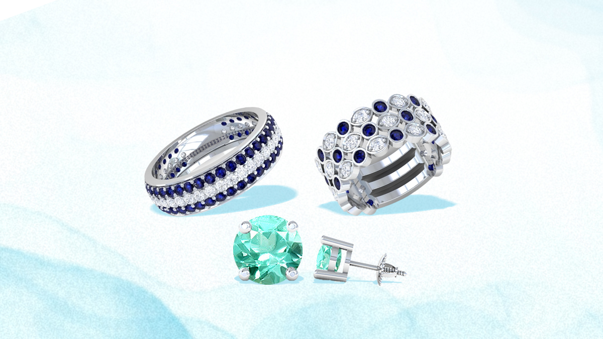 Call Of The Blue – 5 Gemstone Jewelry For Your Wedding