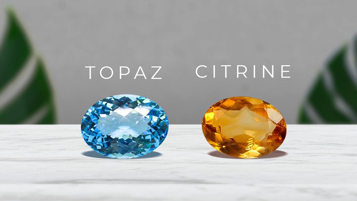 November Birthstones: Topaz or Citrine
